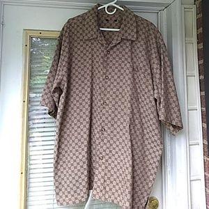 Men's designer short sleeve shirt!